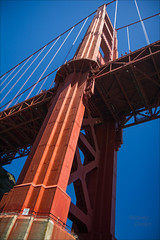 Extreme Angle (LifeLover4) Tags: california canon angle pov extreme superior goldengatebridge boating sanfranciscobay circularpolarizer ggb northtower 17mm 550d efs1755mmf28isusm t2i lifelover4 stickneydesign ggnpc11 ggb75