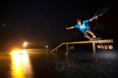 philipp scholler flickr (_Lefti) Tags: sky kite night stars fire surf flash rail slide greece torch boardslide kitesurf hangloose limnos keros strobist nightsurf fdd