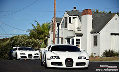 A Jaw Dropping Invasion Through Beverly Hills. Featuring The Worlds Only Bugatti Veyron Super Sport PUR BLANC Edition (SupercarFocus.com) Tags: white dr hills rodeo beverly bugatti blanc matte pur veyron