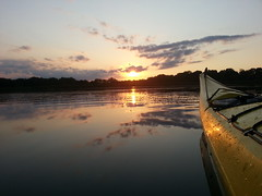 (obrazu) Tags: sunset lake kayak paddle kayaking oconomowoc wi necky looksha delafield lowernemahbin