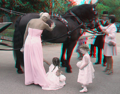 End of the day's work (katyfernleigh) Tags: 3d anaglyph stereo spm twincamera canona570 sdmsync