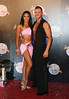 Karen Hauer and Artem Chigvintsev Strictly Come Dancing 2012 launch