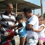 """Feridun and Fatih (on scooter) discuss cement yard business <a style=""""margin-left:10px; font-size:0.8em;"""" href=""""http://www.flickr.com/photos/59134591@N00/7979664265/"""" target=""""_blank"""">@flickr</a>"""