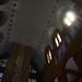 Detalhe da luz que entra na Igreja