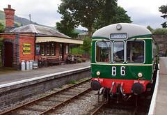 Rural railway (geoffspages) Tags: geotagged railcar llangollenrailway dmu wickham carrog ruralrailway geo:lat=5298168956691735 geo:lon=3315222338623016