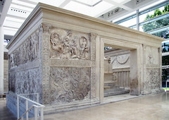 Ara Pacis, public front from south
