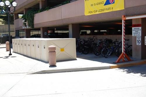 Photo - Table Mesa Bike Lockers