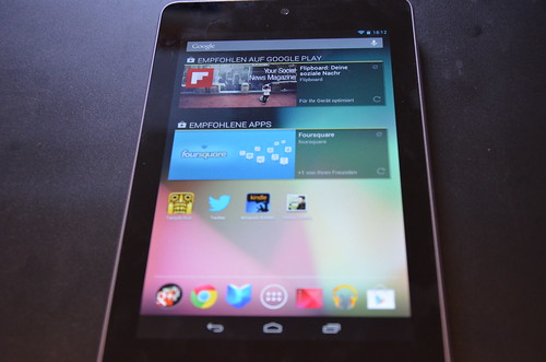 Nexus 7 For Sports Fans