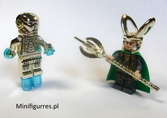 We should talk... (minifigures.pl) Tags: lego ironman loki legosuperhero legochrome goldironmansuit