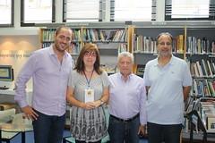 Τη Δημόσια Βιβλιοθήκη Βέροιας επισκέφτηκαν ο Δήμαρχος Νέας Σμύρνης