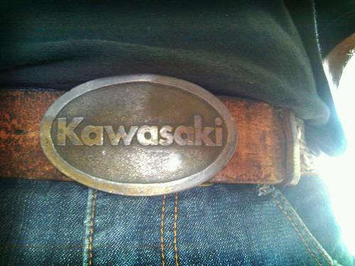 kawasaki beltbuckle daillypictureparade flickrandroidapp:filter=berlin