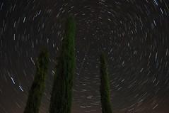 Startrails #1 (cekkke) Tags: nikon notte stelle startrail scia cadente d90 stellare