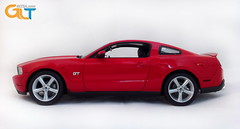 FORD MUSTANG GT BY GREEN LIGHT 1:18 RED (GLTSA.com Instagram and Keek: GLTSA) Tags: red ford by greenlight mustang gt 118