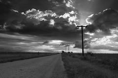 Illinois (Images by Walter Lesus) Tags: road blackandwhite clouds photo illinois farm farmland blackwhitephotos