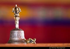 Buddhist Bell (Hema Narayanan) Tags: india buddhism monastery leh ladakh nubravalley nubra indiaimages diskitmonastery diskitgompa buddhistfaith deskitgompa religionofbuddhism ladakhianmonastery