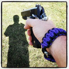 Killer bracelet courtesy of @srt_freak (Snapshots by Nixy J Morales) Tags: shadow square lofi squareformat bracelet 1911 paracord paraordnance p1245 iphoneography instagramapp uploaded:by=instagram