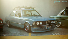 Desirable. (azntaiji) Tags: bmw e21 slammed stanced cars car automotive pnw stanceworks canibeat nwbuilt stancenation oldskool oldschool blue 50mm 18 canon 5d fullframe