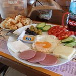 """Today's breakfast <a style=""""margin-left:10px; font-size:0.8em;"""" href=""""http://www.flickr.com/photos/59134591@N00/8032050960/"""" target=""""_blank"""">@flickr</a>"""
