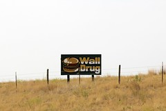 CHEESEBURGER (the_mel) Tags: wall southdakota highway burger billboard advertisement cheeseburger drug 90 i90 walldrug