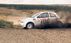 How to drive a Ford Ka (Chris McLoughlin) Tags: rally 1855mm motorsport a77 fordka chrismcloughlin derekcornforth amandacornforth slta77 sonyslta77