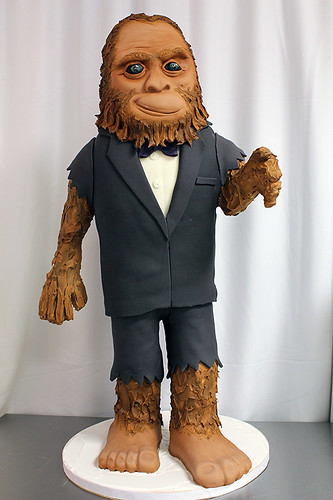 Bigfoot Cake