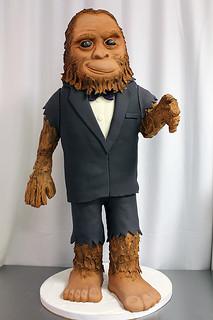 Bigfoot Cake