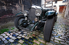 1924 Bentley 3 Litre, Bath, Somerset, UK (Pictures from the Ghost Garden) Tags: cars bath somerset spa classiccars bentley