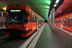 Untergrundbahnhof des RBS Regionalverkehr Bern - Solothurn in der Stadt Bern in der Schweiz (chrchr_75) Tags: train de tren schweiz switzerland suisse swiss eisenbahn railway zug september locomotive christoph svizzera bahn treno chemin centralstation fer 2012 locomotora tog juna lokomotive rbs lok ferrovia spoorweg suissa locomotiva lokomotiv ferroviaria  1209 locomotief chrigu  rautatie schmalspur  zoug trainen  chrchr hurni chrchr75 chriguhurni meterspur september2012 albumbahnenderschweiz albumbahnenderschweiz2012712 chriguhurnibluemailch hurni120930 albumrbsregionalverkehrbernsolothurn albumzzz201209september