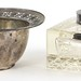 Lot 2040.  Two Sterling Silver Desk Accessories