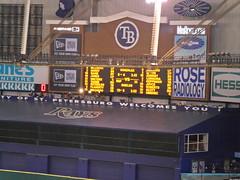 SAM_5528 (arctic_whirlwind) Tags: baseball tampabay baltimore rays orioles shields 2012 tropicanafield jamesshields tampabayrays