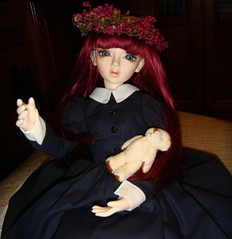 Arrival Irin 10 (Lynaxchan) Tags: photo doll bjd arrival dollfie msd irin littleharmony littlemonica