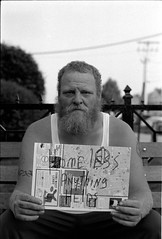 Homeless. Anything helps. (vytautas ambrazas) Tags: poverty me homeless maine streetphotography documentary help 35mmfilm analogphotography survival leicaflex agfaapx400 livingonthestreet portraitme anythinghelps summicronr50mmf2 homelessanythinghelps