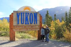 Us in the Yukon (ChaucerCat) Tags: autumn mountain alaska landscape driving jeep princess skagway yukon denali fairbanks juno diamondprincess talkeena