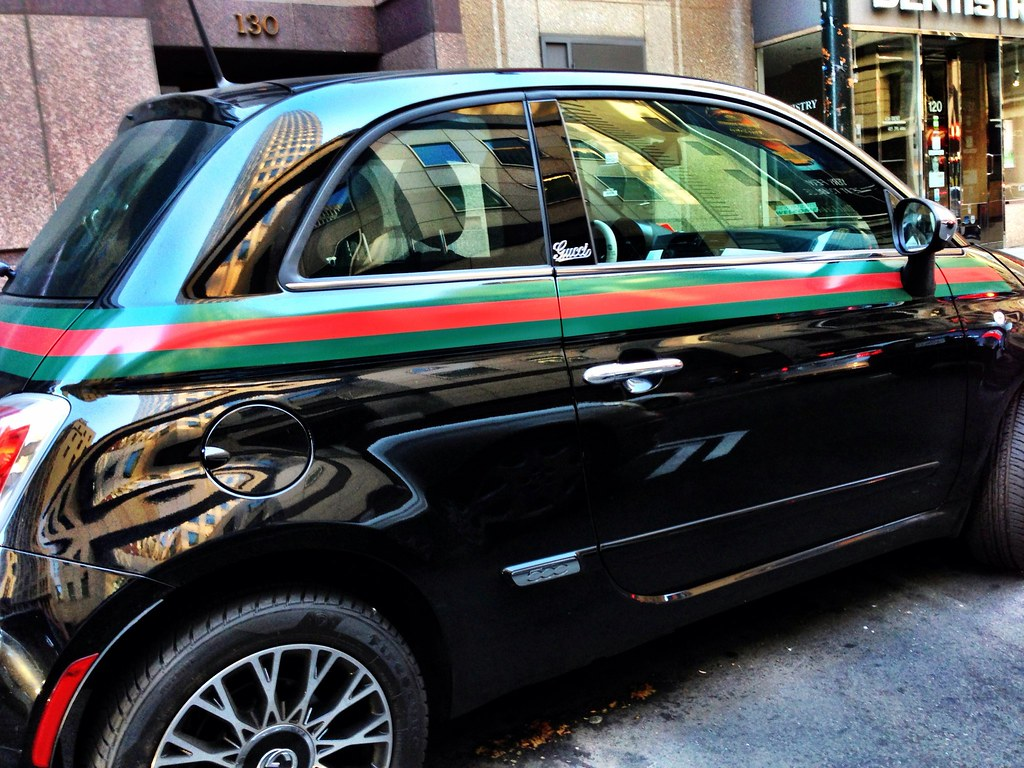 Fiat 500  Gucci edition (LloydRussell) Tags  sanfrancisco gucci fiat500  iphone iphoneography 579f306ae41