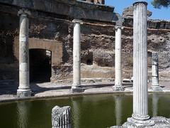 """""""Maritime Theater,"""" Hadrian's Villa, view of ambulatory portico"""