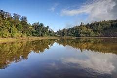 Reflection at Ranu Regulo Lake