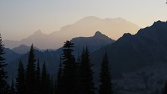 Mt. Rainier from Brown Peak (Mike Dole) Tags: cascades washingtonstate mtrainiernationalpark palisadeslakes