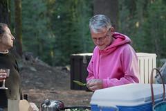 Pancake Production _4126 (hkoons) Tags: aspen group jackson meadow reservoir peace corps spring unit tahoe national forest 2016 sierra sierras campout mountians recreation rpcv