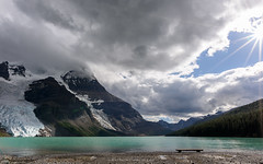 Berg Lake (msommers00) Tags: berg lake robson jasper british columbia rocky mountains canada landscape vibrant