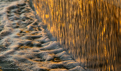 Golden water (norm.edwards) Tags: water feature greece golden waterfall lovely gold bubbles sunrise