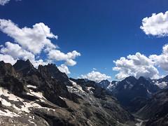 Vue du Promontoire de la Meije () Tags: lescrins labrarde alpinisme montagne promontoire refuge sunset clouds nuages randonne hiking bivouac isre
