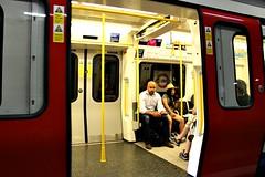 Barons Court (Peter Denton) Tags: london tfl londonunderground transportforlondon red tubetrain candid baronscourt peterdenton england uk eu europe city people canoneos100d