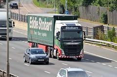 Eddie Stobart 'Caitlin Sofia' (stavioni) Tags: eddie stobart truck trailer lorry m4 reading volvo fh fh4 caitlin sofia h4232 ku15vtz