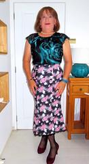 Nice Skirt (Trixy Deans) Tags: crossdresser cd cute crossdressing crossdress classic classy cocktaildress tgirl tv transvestite transgendered transsexual tranny trixydeans transvesite tgirls trixy sexy xdresser sexyheels sexylegs sexyblonde heels hot highheels high pencilskirt leatherskirt
