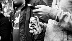 Thirsty? (mlaguardia.ca) Tags: beer pabst blue ribbon family thirsty blackandwhite bnw