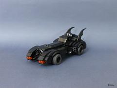 Batmobile 89 (Kloou.) Tags: kloou artist legoartist lego toys toy toyphotography brick arttoy art afol legoart moc batman batmobile dccomics timburton batmobile1989