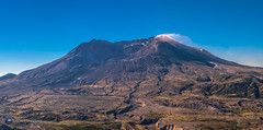 Mount St. Helens. (Loowit Imaging - Steve Rosenow, Photographer) Tags: mountsthelens mtsthelens sthelens volcano mountain landscape scenic scenery pacificnorthwest volcaniclandscape nikon nikond5500 panoramic panorama
