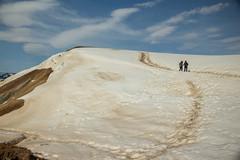 Krafla Viti Crater 18 (sarahmonious) Tags: kraflaviticrater kraftla viti myvatn kraftlavolcano volcanocrater crater hverir snow route1iceland route1 ringroad iceland iceland2016 icelanding2016 traveling