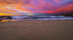 Rainbow Sky (Tonitherese) Tags: sunrise tamarama australia