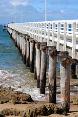 Jetty (pnaudi) Tags: geelong water jetty pier rocks ocean nature outdoors pointlonsdale greatoceanroad